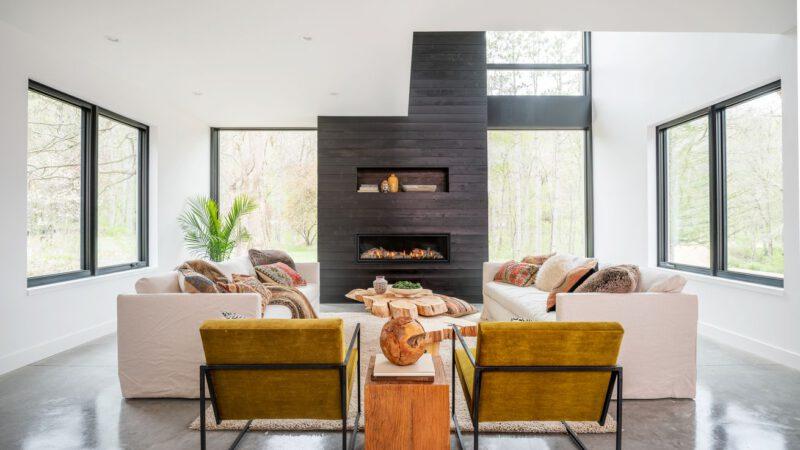 Ground Floor Gathering Spaces | 2021 Modern Barnhouse