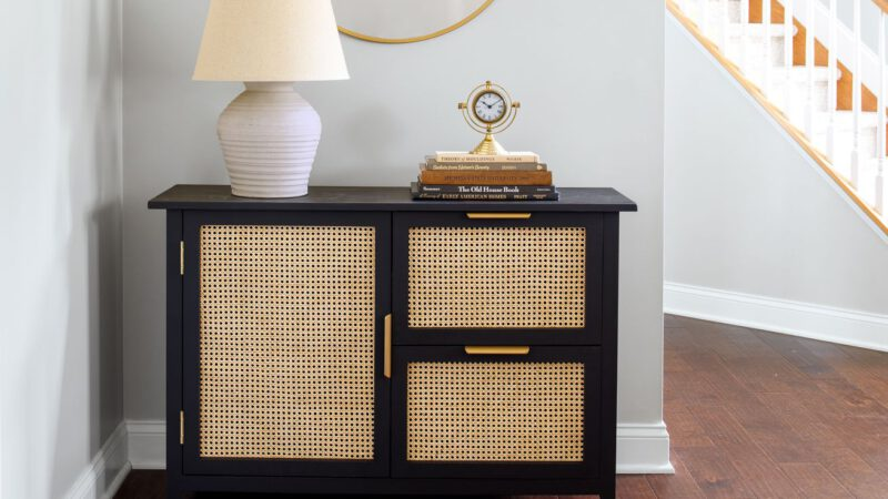 How to Build a Console Cabinet