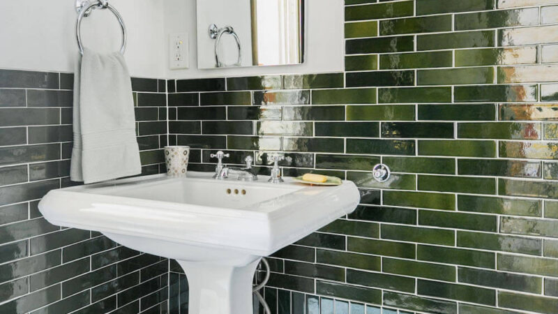 Get The Look: Green Tile in Gramercy