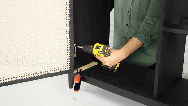 Fall 2021, Easy DIY, console cabinet, step 10
