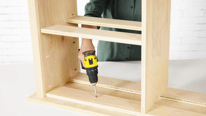 Fall 2021, Easy DIY, console cabinet, step 5