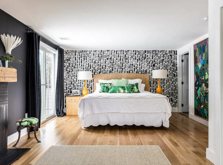 Redesigned Master Bedrooms Reveal Color, Pattern, or Calm