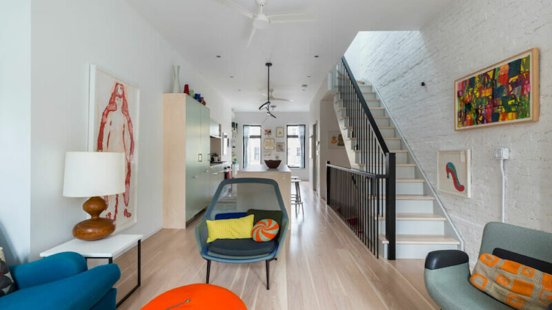 My Sweeten Story: A Bronx Rowhouse Steps Up to Live/Work Duty