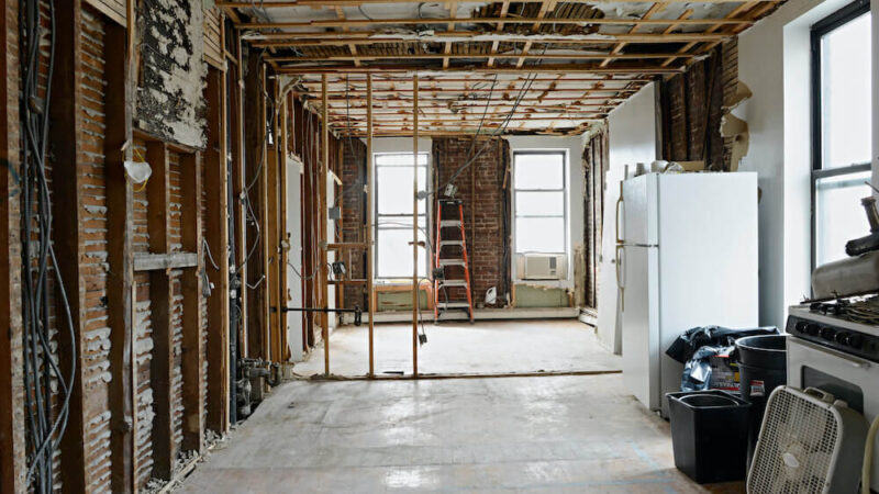 What are the Costs That Go Into Gutting A Home?