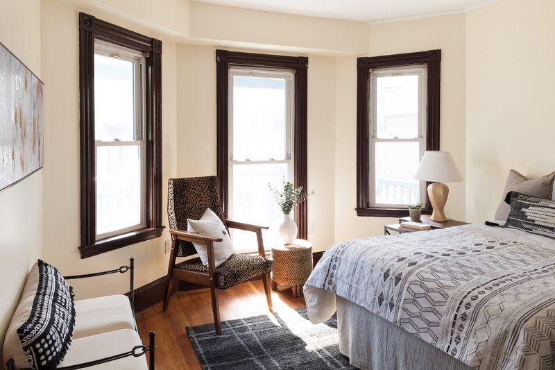 Fall 2021, Dorchester reveal, 2nd floor bedroom
