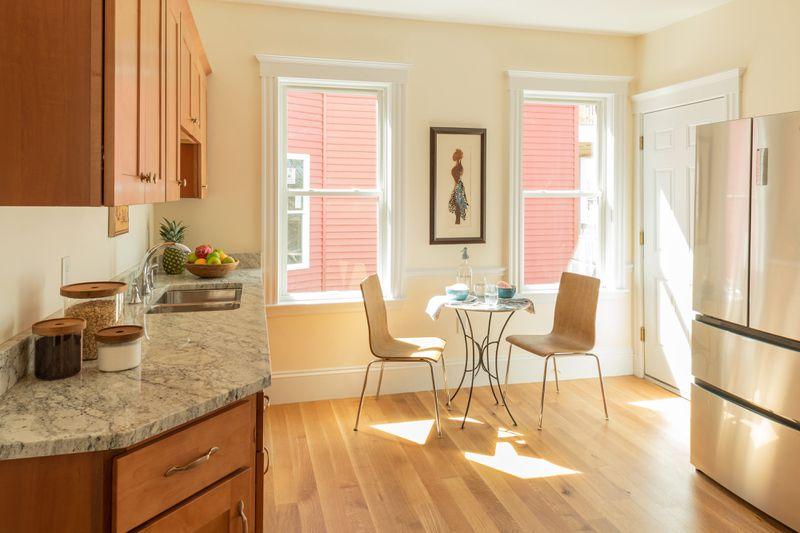 Fall 2021, Dorchester reveal, 2nd floor kitchen