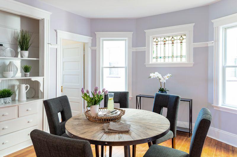 Fall 2021, Dorchester reveal, 1st floor dining room