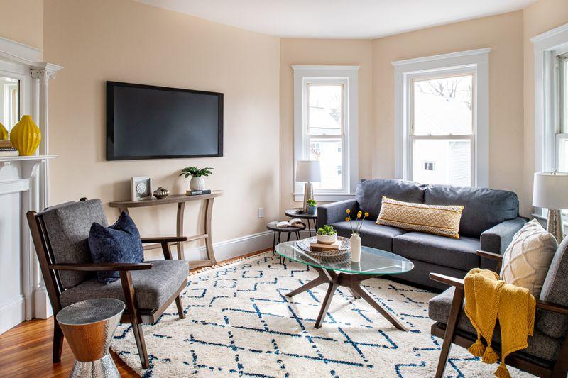Fall 2021, Dorchester reveal, 3rd floor living room