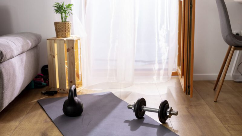 Creative Home Gym Storage for Small Spaces