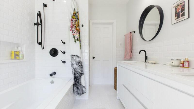 7 Takes On a Dreamy White Subway Tile Bathroom