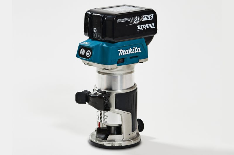 Fall 2021 Tool Lab, compact router from Makita