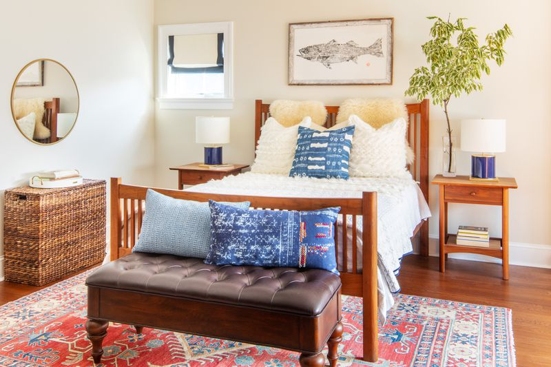 Fall 2021 House Tour, Tudor Revival bedroom