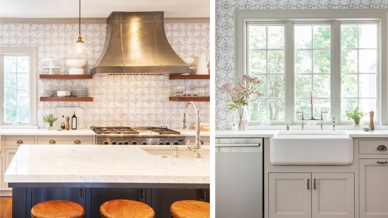 Fall 2021 House Tour, Tudor Revival kitchen