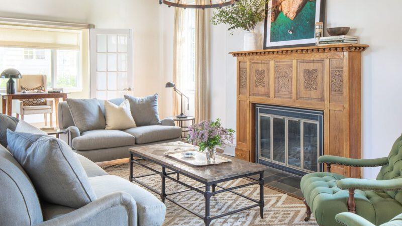 Brightening Up a 1930s Tudor Revival