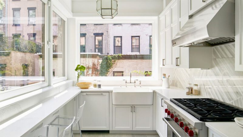 How to Make A Galley Kitchen Look Bigger